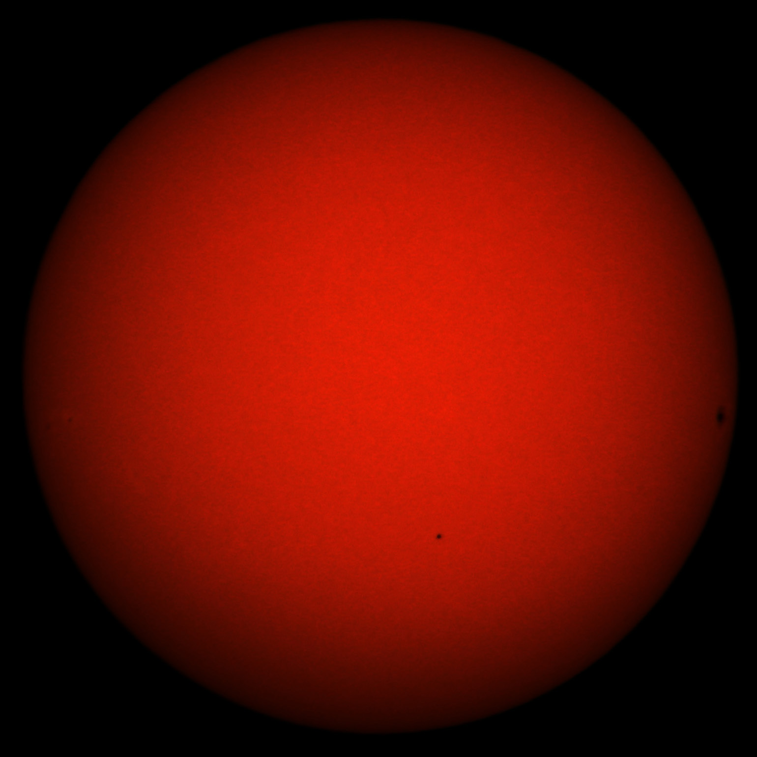 Transit of Mercury, November 8, 2006